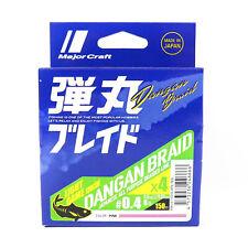 Major Craft Dangan Braided Line X4 150m P.E 0.4 Pink DBL4-150/0.4PK/8lb (6666)