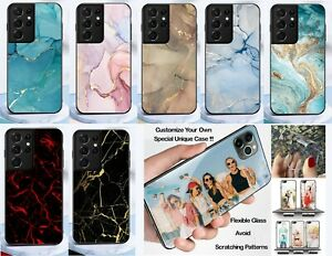 New For Samsung Galaxy S21/S21+/S21 Ultra Customized Case Marbling Series Cover
