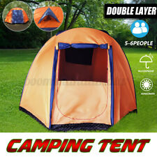 5-6 Person Waterproof Instant Set Up Tent Camping Hiking Shelter for All Season