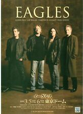 The EAGLES 2011 ORIGINAL JAPANESE POSTER size: 10x7 inches
