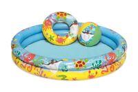 Piscina para Niños 122x20cm con Accesorios Bestway