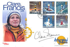 1998 Lighthouses - Westminster Autographed Editions Off - Signed Clare Francis