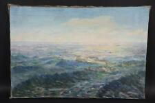 Seestück Ölgemälde Impressionist signiert Jan NOVOTNY um 1900 (BM3800)