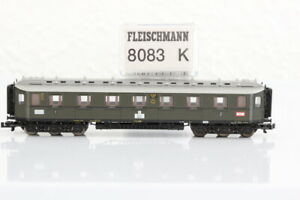 N FLEISCHMANN 8093K 1./2.Klasse DRG Abteilwagen Personenwagen coach OVP..J55