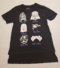 Star Wars Graphic T-Shirt- Girls Sz XL (14-16)- Youth- Short Cap Sleeve