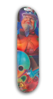 NOS DGK x Ron English - Uncle Sam skateboard deck out of print 8.06 x 31.7 rare