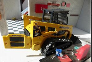 Joal 1:25 Komatsu CK30-1 Model Compact Tracked Loader Digger BNIB 40084 metal