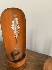 Antique Primitive Metal Candle Holder