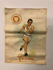 "New listing Murad cigarette Tobacco silk for Texas University ""Track"""