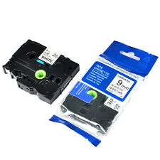 1PK For Brother PT200 TZ-221 TZe-221 P-Touch Laminated Black on White Label Tape