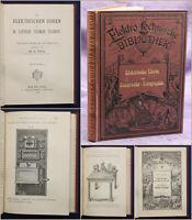 Hartleben's Elektro-technische Bibliothek Bd 13 Die elektrischen Uhren 1883 sf