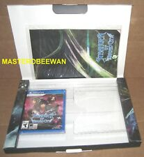 Stranger of Sword City PS Vita New + Limited Empty Box +Poster +Reversible Cover