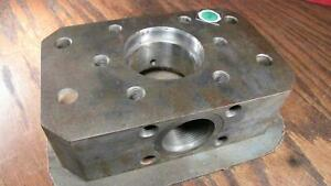 Nordson Hot Glue Gun Rhino Pump Body Manifold # 1013172