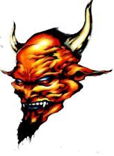 Tattoo Style Devil design iron on transfer
