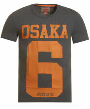 Camisetas de hombre de manga corta Superdry color principal gris