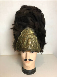 17th cen. French Grenadier Guard Cap Hat Napoleonic Old Imperial Guard Bear Skin