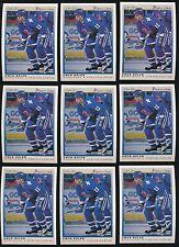 (39) 1990-91 O-Pee-Chee Premier Score rc Owen Nolan + (55) 1991-92 UD Parkhurst