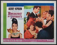 BREAKFAST AT TIFFANY'S AUDREY HEPBURN CIGARETTE HOLDER 1961 LOBBY CARD #3