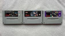 ADVENTURES OF BATMAN & ROBIN / RETURNS / FOREVER Super Nintendo Snes PAL RARE