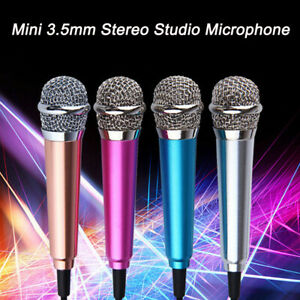Mini Stereo Microphone Mic For Android iPhone PC Chatting Singing Karaoke