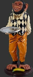 Monkey Butler 97 cm Tall  Animal Figurine