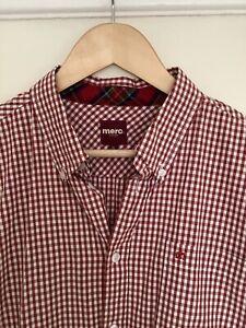 Merc Gingham Shirt Xl