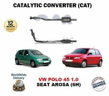 FOR SEAT AROSA 1.0 1.4 VW LUPO POLO 1.0 1.4 NEW CATALYTIC CONVERTER CAT + PIPE