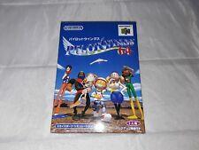 Pilot Wings 64 Nintendo 64 Japan Import Complete in Box North American Seller