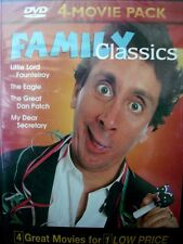 Family Classics Multi Movie Pack Vol 7, New DVD 4 Great Movies WORLD SHIP AVAIL