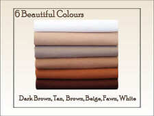 ECO Friendly CHEMICAL FREE FELT - Fabric Squares Brown Shades - 12 squares