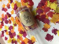 Push Pop Confetti Biodegradable Autumn Leaf Confetti Eco Friendly Maple Leaves