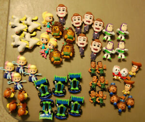 TOY STORY 4 MINIS Series 2 CHOOSE YOUR FIGURES! Fresh Out of Bag Combined S/H