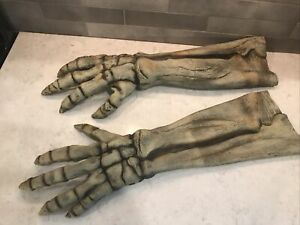 """2004 Don Post Paper Magic Group Costume Monster Skeleton Hands Arms 26"""""""
