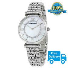 100% NEW Emporio Armani AR1908 Ladies Gianni Stainless Steel Bracelet Watch