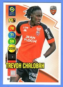 Carte PANINI Adrenalyn XL 2021-22 Ligue 1 #121 Trevoh CHALOBAH FC Lorient
