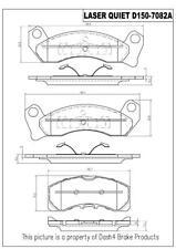 Disc Brake Pad Set-Rear Drum Front Pronto LMD150