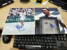 L@@K Ivan Lendl Signed 8x10 Photos Autographed lot of 2