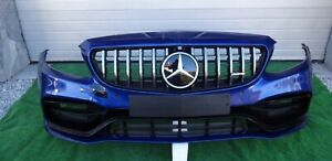 MERCEDES W205 AMG COUPE BUMPER FRONT FACELIFT OEM BLUE C-CLASS 6.3 AMG
