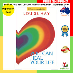 You Can Heal Your Life 30th Anniversary Paperback Book Louise Hay NEW FREE SHIP
