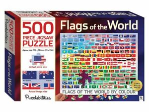 500 Piece Puzzlebilities Jigsaw Puzzle - Flags of the World