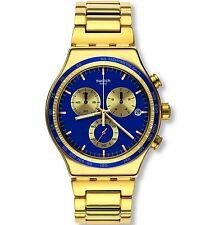 Swatch Irony Powershot Chronograph Chrono Swiss Quartz Watch YVG402G