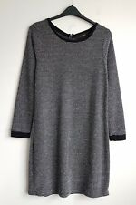 RESERVED LADIES BLACK AND WHITE JUMPER DRESS SIZE XL UK 12
