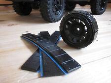 1/10 RC Crawler Axial Klebegewichte Reifengewichte 4x 12x5g Stahl schwarz = 240g