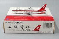 JC Wings 1:400 Shanghai Airlines Cargo Boeing B757-200(F) B-2808
