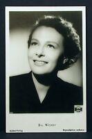 Ilse Werner - Actor Movie Photo - Foto Autogramm-Karte AK (Lot-Z-2031)