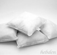 """Pack 4 Cushion Pads Inserts Fillers Inner HollowFibre Filled 12"""" 14"""" 16"""" 18"""" 20"""""""