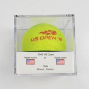 2015 US Open Milos Raonic Vs Feliciano Lopez Round 3 Match Used Tennis Ball