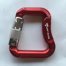 SupAir Aluminum Carabiners - 20kN size: 2.5 in x 3 in (Pair) for Paragliding NEW
