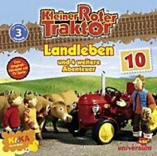 """KLEINER ROTER TRAKTOR """"TEIL 10 LANDLEBEN"""" CD HÖRSPIEL"""
