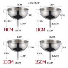 Нержавеющая сталь воронка кухня масло жидкость консервирования Хоппер фильтр широкое устье инструмент